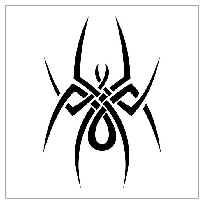 Drawn spider web tribal Beyond  Tattoo the Mountain
