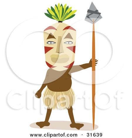 Tribal clipart tribal person – Tribal Clip Tribal Clipart