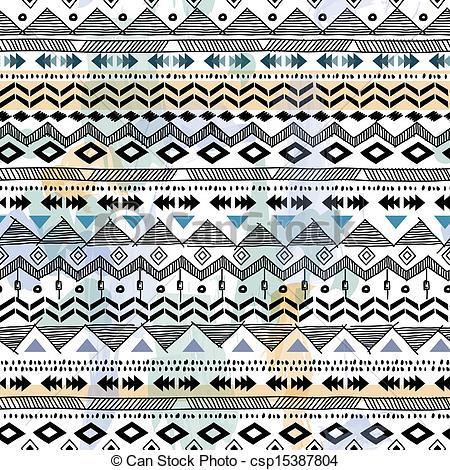 Tribal clipart tribal print Tribal Clipart vector Vector seamless