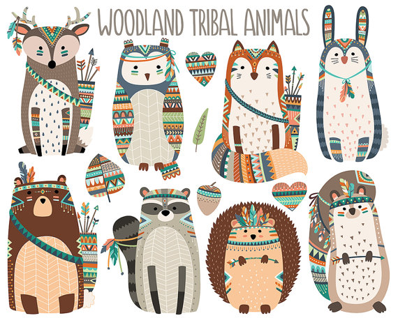 Tribal clipart tribal print This  more tribales N