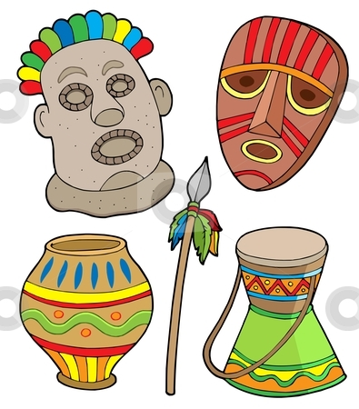 Africa clipart african tribe Tribe African African Tribe Clipart