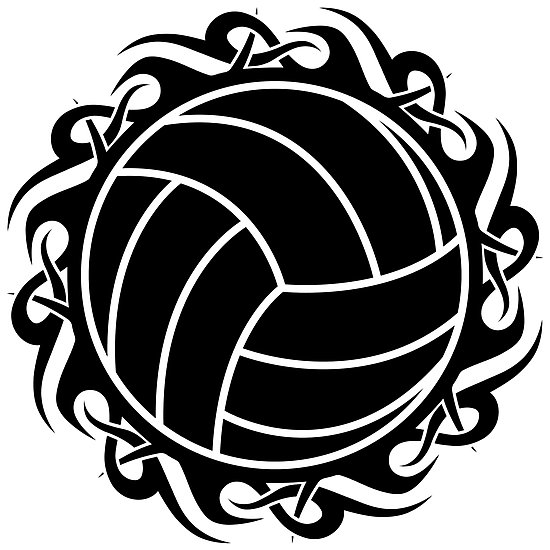 Tribal clipart volleyball Redbubble volleyball