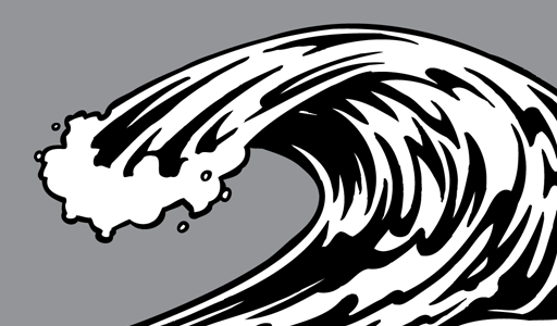 Weaves clipart surf wave #8