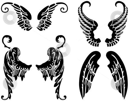 Angel clipart tribal #1