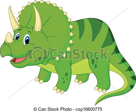 Triceratops clipart Clipart  Cute Triceratops