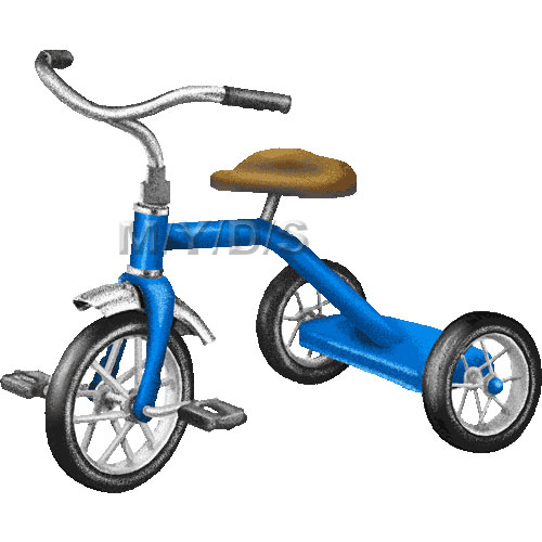 Tricycle clipart Art Tricycle / Large /