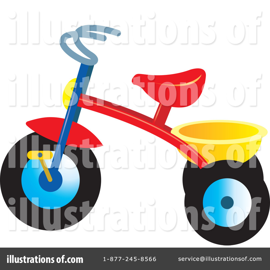 Tricycle clipart #217939 #217939 Perera Perera Illustration