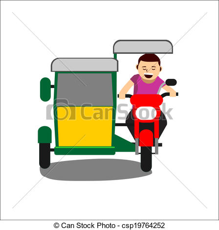 Tricycle clipart Tricycle tricycle of Vector Tricycle