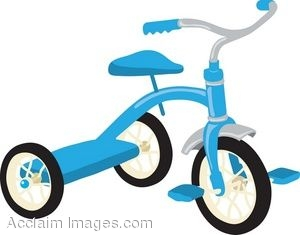 Tricycle clipart  Trike Clipart