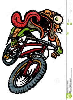 Tricycle clipart animated A riding bike #cartoon Clipart