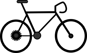 Biker clipart cycle Animated Free Clipartix clipart bicycle