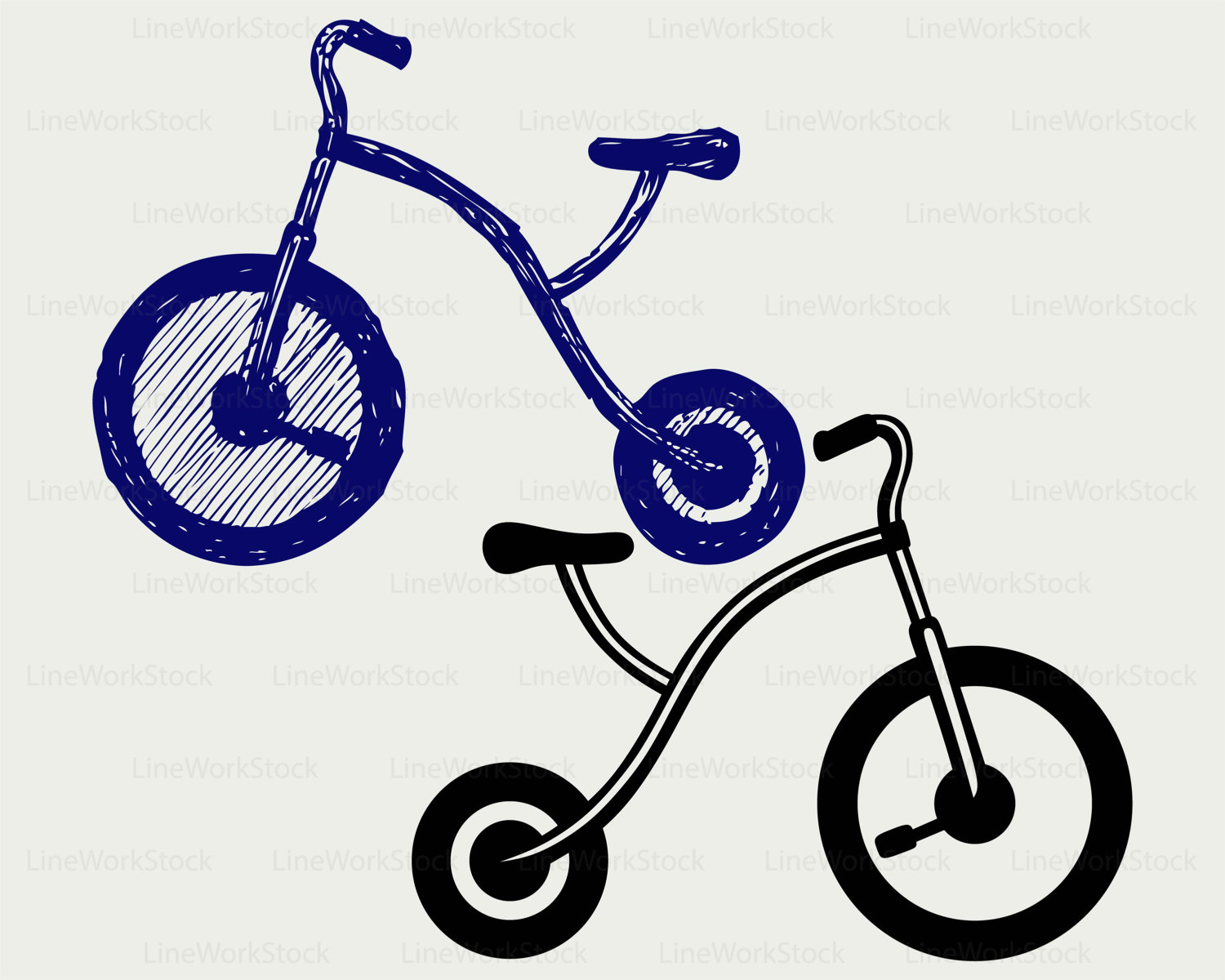 Bicycle clipart tricycle A silhouette tricycle svg svg