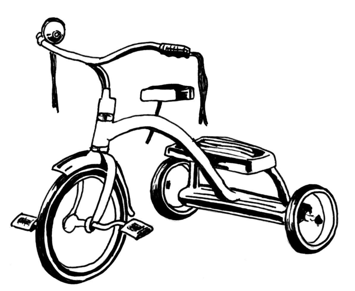 Bicycle clipart tricycle Art Clipart – Clip Art