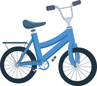Tricycle clipart blue Pictures Kb Graphics Sports Bicycle