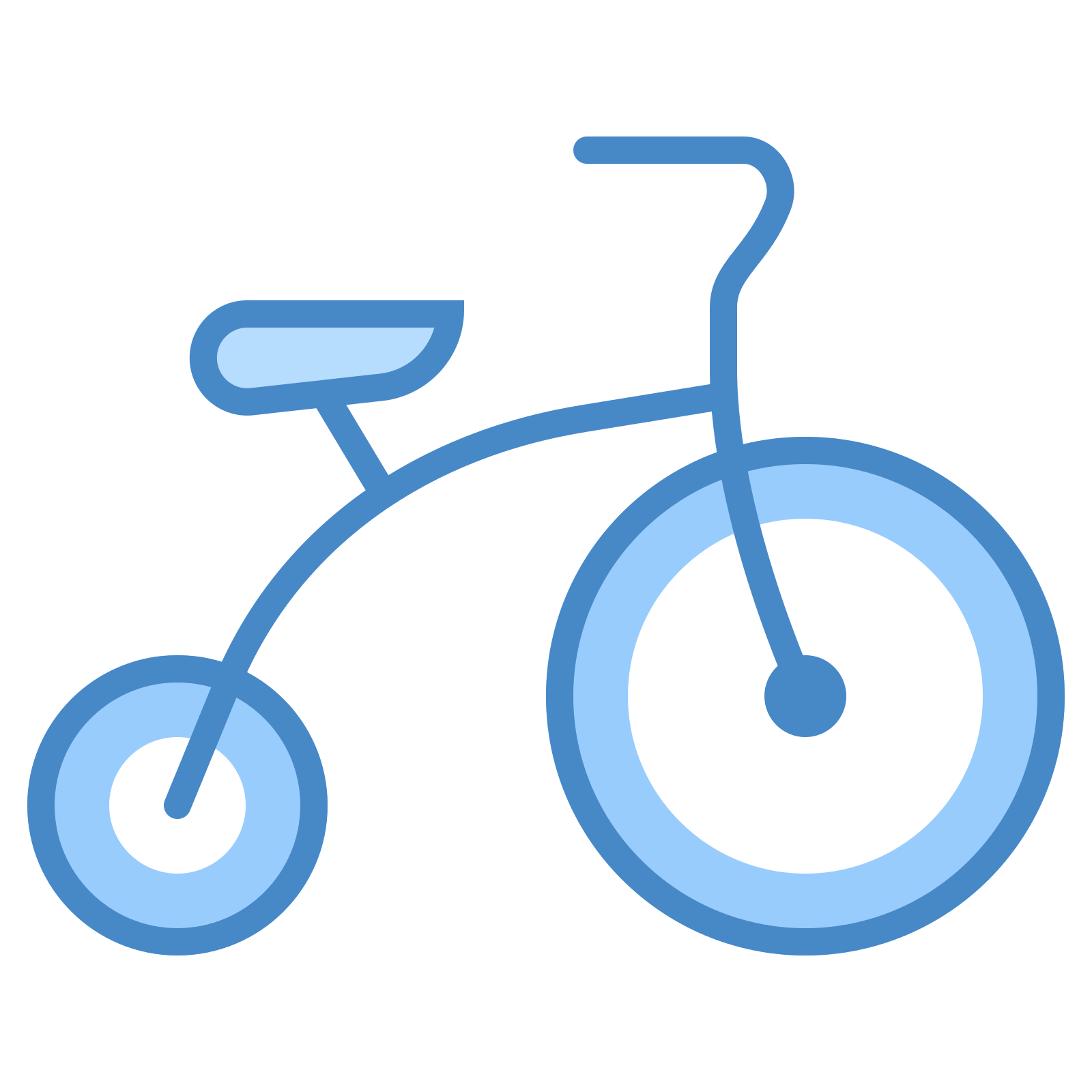 Tricycle clipart blue At Tricycle Tricycle Download Icons8