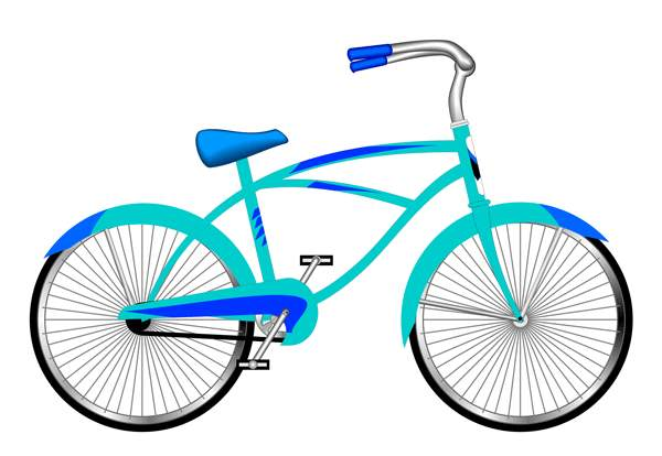 Tricycle clipart blue Clip Pictures Clipartix Bicycle art