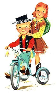 Cowboy clipart vintage cowboy Vintage and Childhood Childhood &