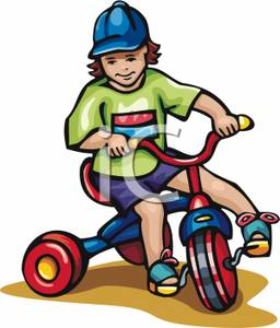 Bicycle clipart kid tricycle Riding Clipart Clipart Clipart Bikes