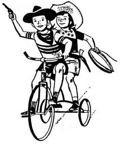 Tricycle clipart vector Free Clip kids Auf Pinterest