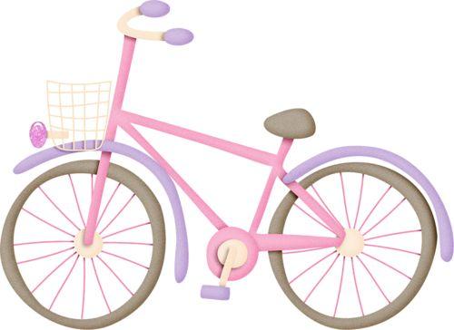 Bicycle clipart pink bike Transporte about transport de Medios