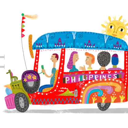 Philipines clipart jeepney driver More and Philippines Philippine Art