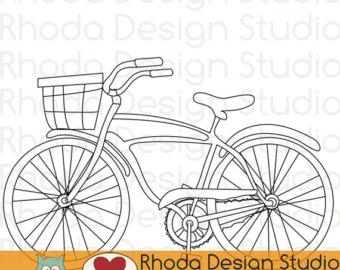 Bike clipart retro bike #3