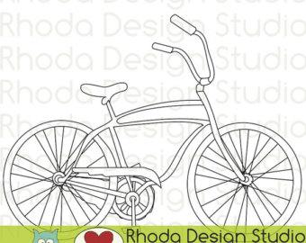 Bike clipart retro bike #5