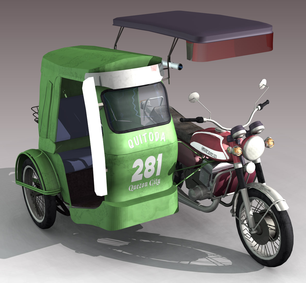 Tricycle clipart philippine ART  lwo 3d Pinterest