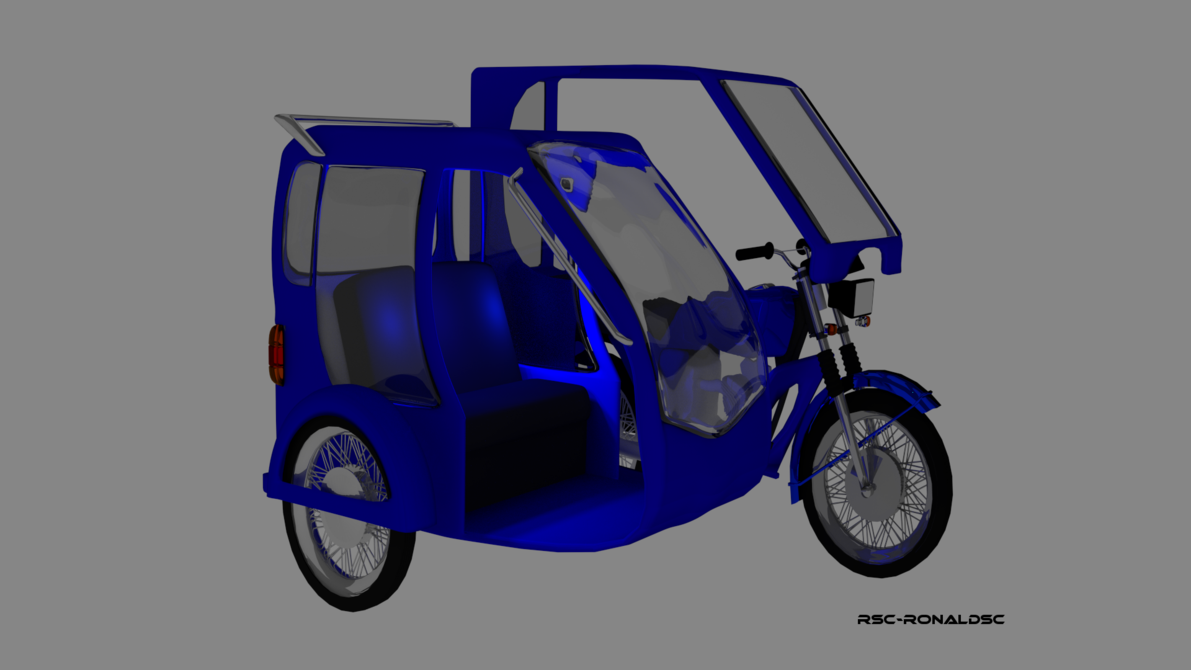 Tricycle clipart philippine RonaldSC by by DeviantArt on