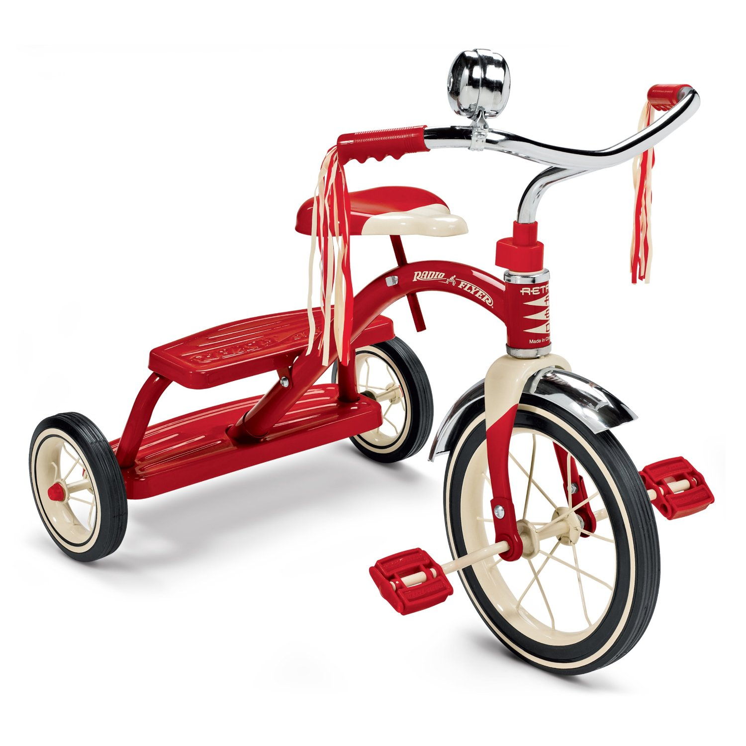 Tricycle clipart vector Dual Red Tricycle Deck Red