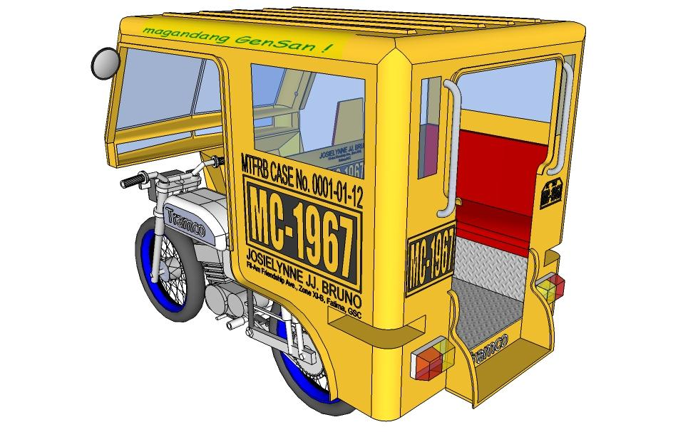Tricycle clipart terminal Title 32 General – Santos