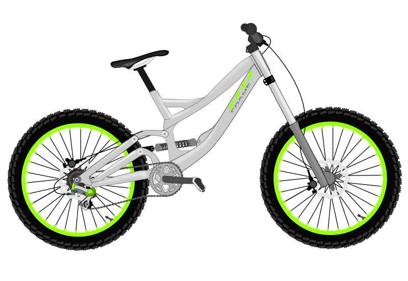 Bicycle clipart downhill Transportation Bicycle Bicycle Images Art