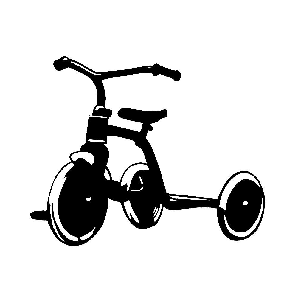 Tricycle clipart vector Download Paper Art 2 on