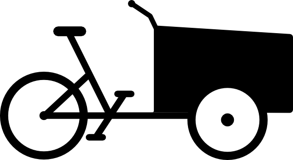 Tricycle clipart vector Com as: clip Bike Clker