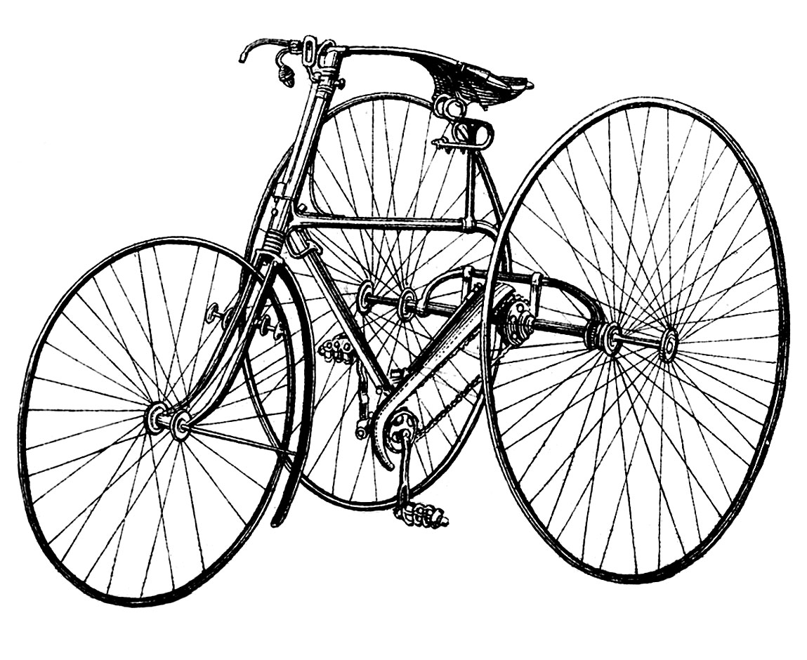 Bicycle clipart tricycle Art Bicycle – Tricycle Art