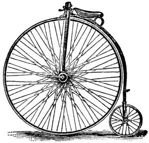 Bicycle clipart old fashioned Pinterest free clipart bicycle black