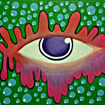 Triipy clipart acrylic painting Painting on Paintings Painting Trippy