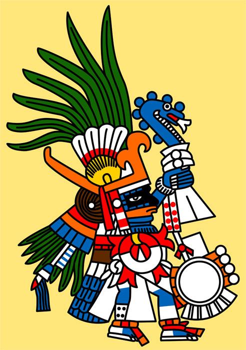 Triipy clipart aztec sun Stuff Huitzilopochtli: deity central Fire