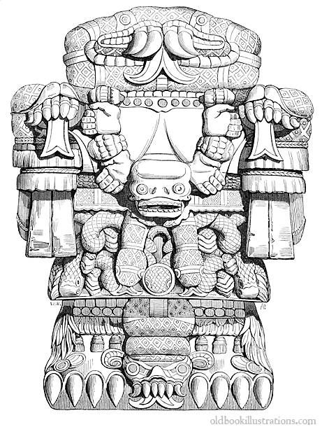 Triipy clipart aztec sun Find and on images mayan