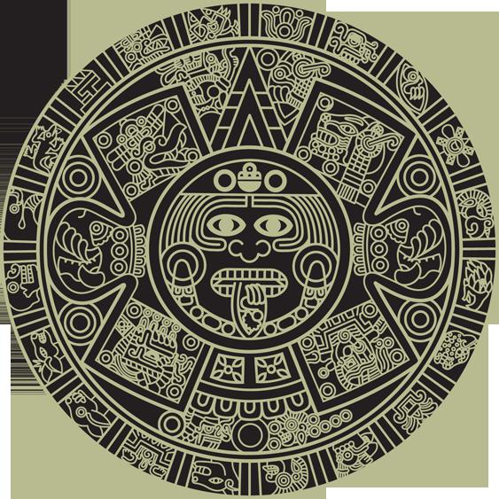 Triipy clipart aztec sun Aztec and Aztec Aztec calendar