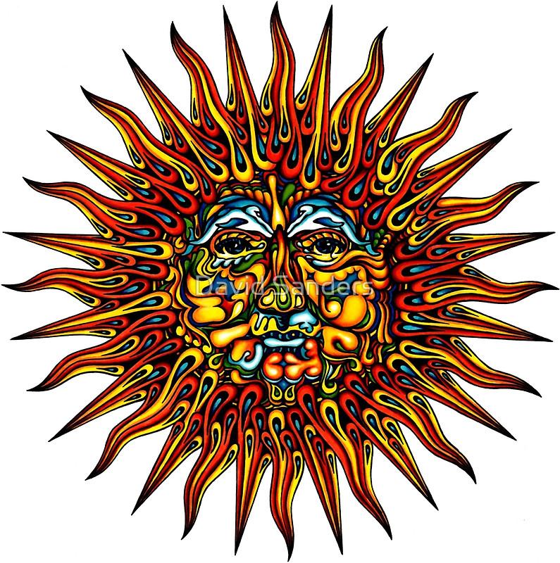 Triipy clipart celestial Celestial dolphins sticker sun sun