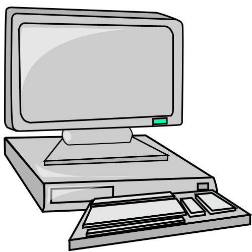 Triipy clipart computer Computer Clip Free computers Gif