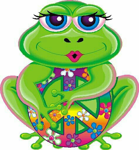 Triipy clipart cute And Peace Peace Funky Psychedelic
