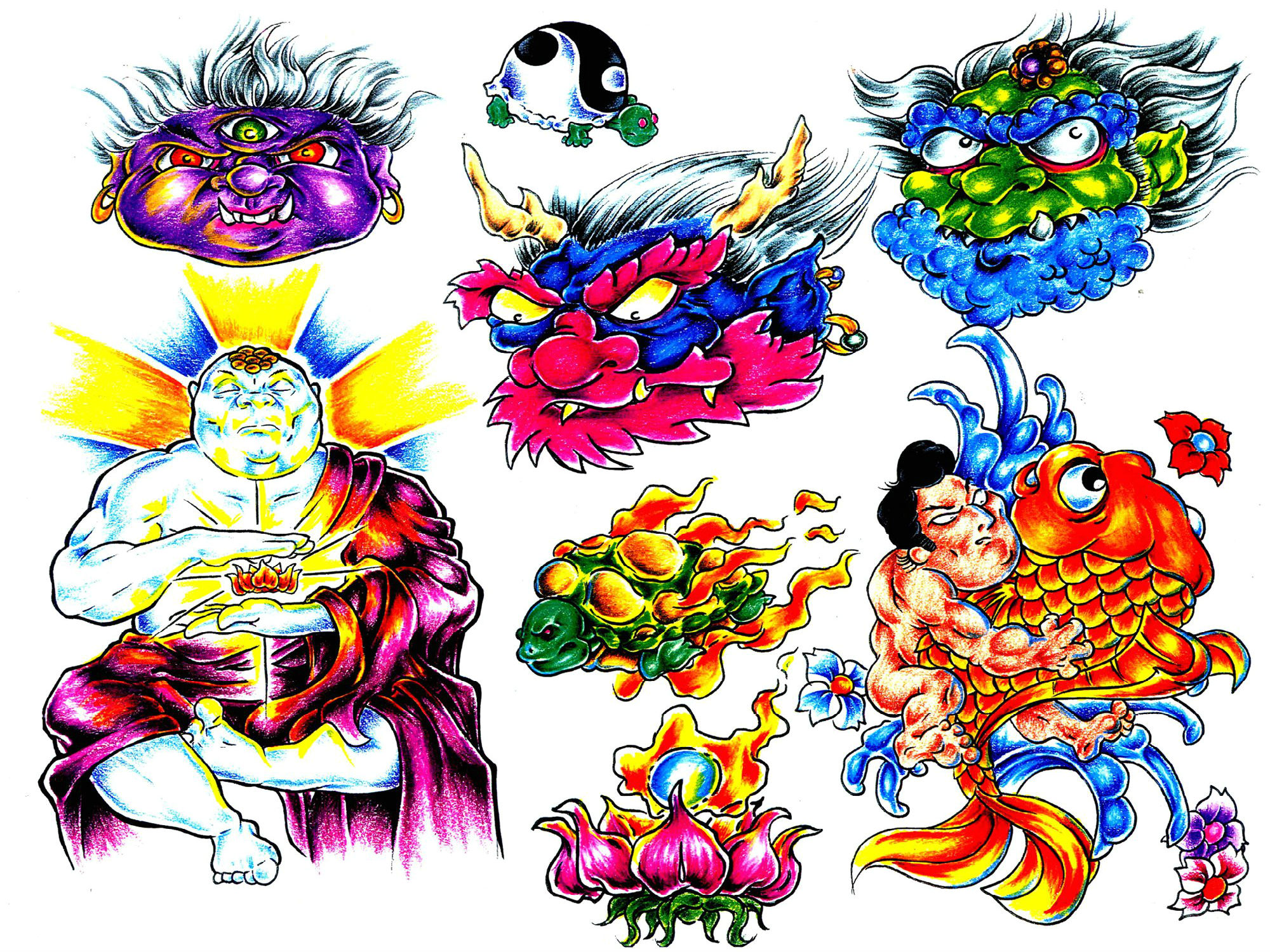 Triipy clipart desktop background Artistic Backgrounds Tattoo Artistic 2000x1500