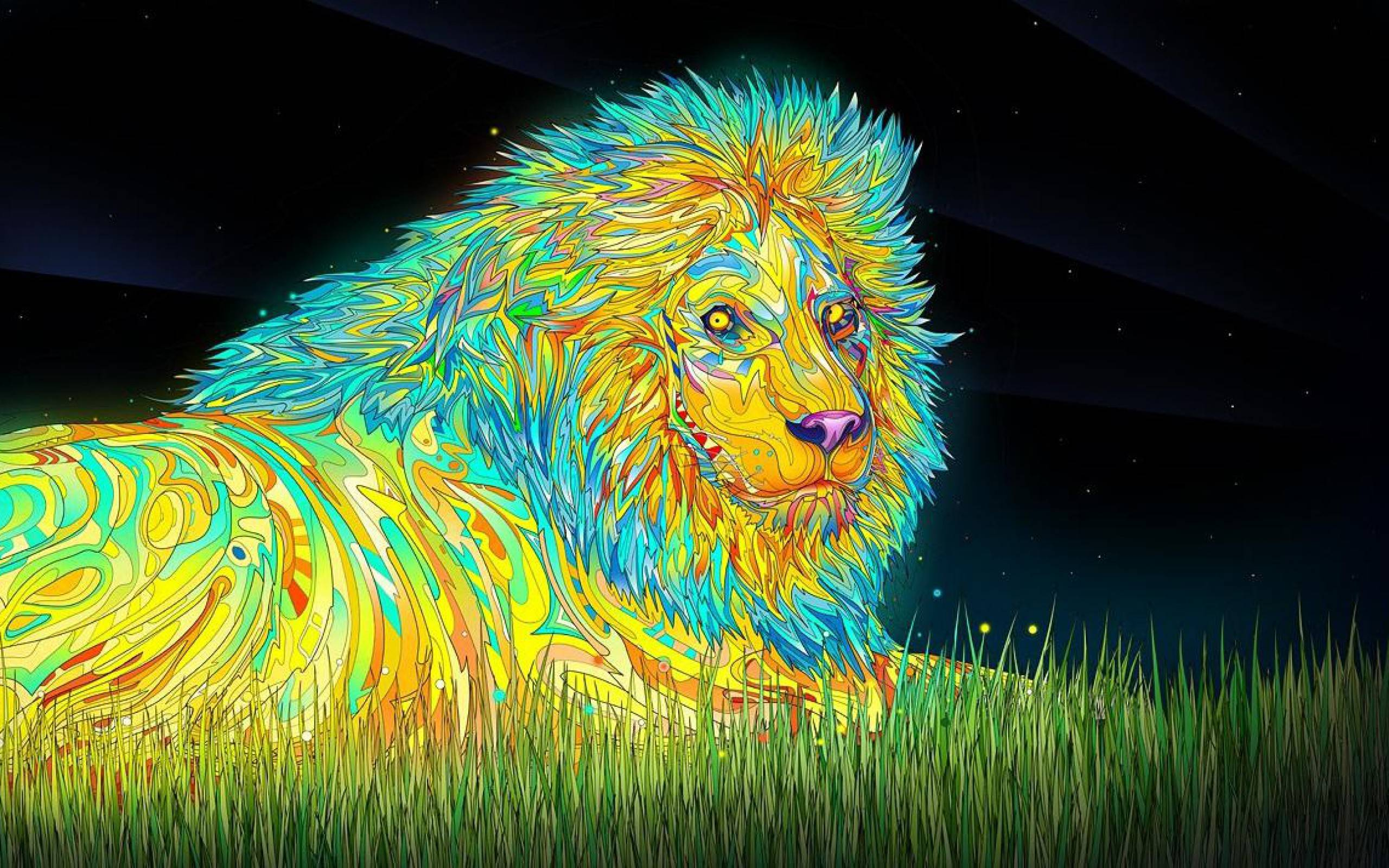 Triipy clipart desktop background Lion LPW28 3D HQ 519