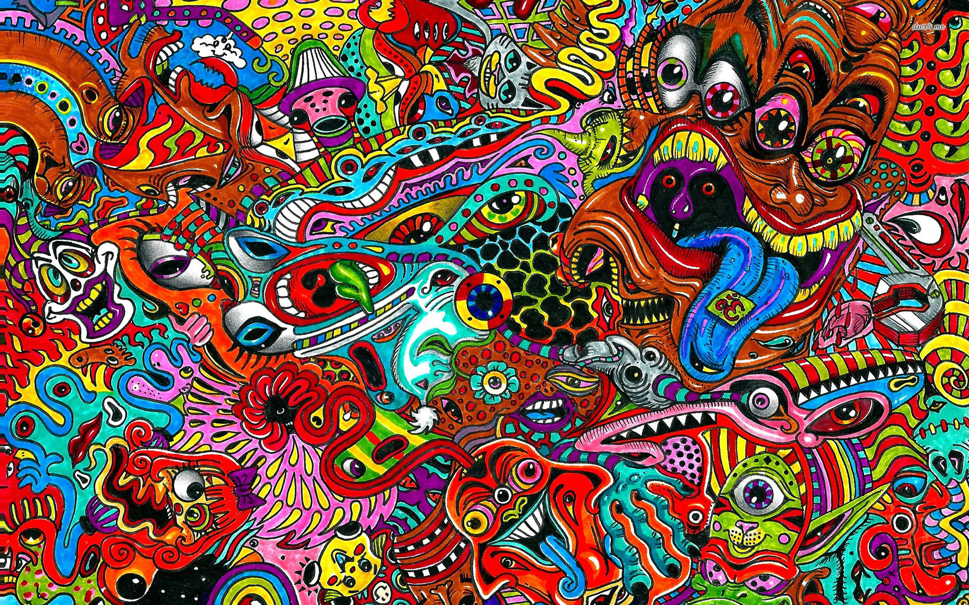 Triipy clipart hd wallpaper Psychedelic para psychedelic WallpaperWallpapersTrance Psicodélicas