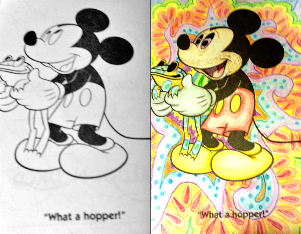 Trippy clipart mickey mouse #9