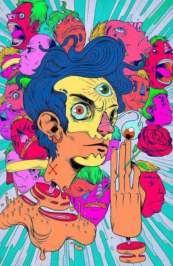 Triipy clipart odd job · ArtDope Weird Trippy about