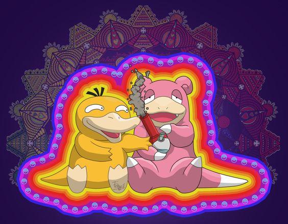 Triipy clipart pokemon Psicodelic pokemon trip pokemon psicodelic