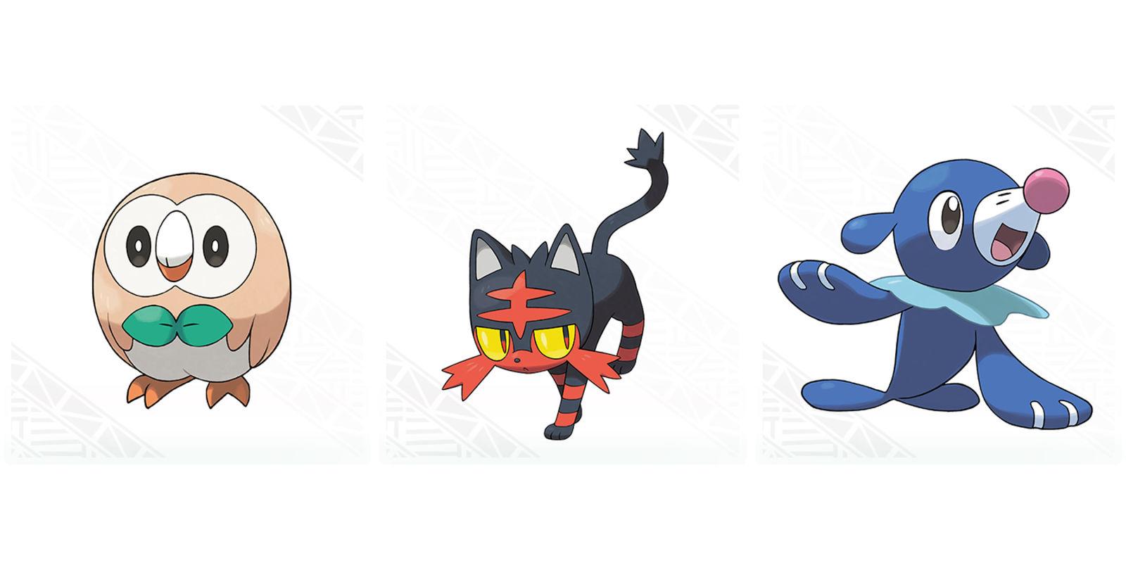Triipy clipart pokemon And Rowlet Popplio Pokémon Starter